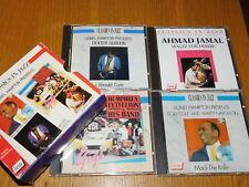 lot 4 CD coffret de LIONEL HAMPTON cozy cole CLASSIC in JAZZ dexter gordon JAMAL