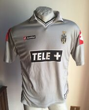 MAGLIA CALCIO LOTTO JUVENTUS TELE + AWAY FOOTBALL SHIRT 2000 JERSEY VINTAGE