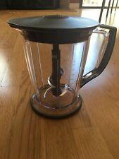 Ninja Master Prep Replacement Part, 48 Oz. 6 Cup Plastic Pitcher W/ Gray Trim