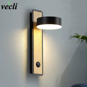 LED Wall Lamps With Switch Nordic Modern 5W Rotatable Sconce Wall Lights