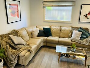 Leather Couch- Seven Seater Couch From PLUSH - Original Price $3250