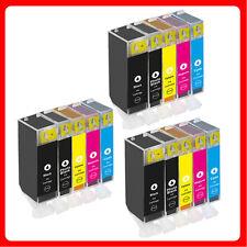 15 XL Ink Cartridges For Canon MP560 MP620 MP630 MP640 MP980 MP990 MX860 MX870