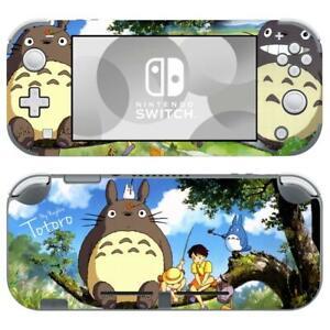 Nintendo Switch Lite Console Vinyl Skin Stickers Decals My Neighbor Totoro Anime