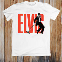 Elvis Presley Singing Retro Unisex T Shirt