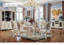Barock Antik Stil Esstisch Tisch Echtes Holz Klassische Designer Tische Rokoko
