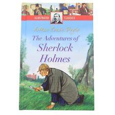 Illustrato Classici Copertina Rigida per Bambini Storia Libro - Sherlock Holmes