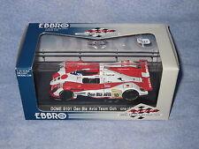 DV6661 EBBRO DOME S101 DEN BLA AVIS TEAM GOHD 24H MANS 2001 #10 Ref 212 1/43