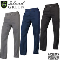 """70% OFF"" ISLAND GREEN MENS FORMAL PERFORMANCE GOLF TROUSER ALL COLOURS & SIZES"