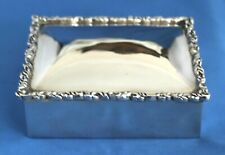 Mexican Sterling Silver Box With Lid By Heather Silversmiths Mexico City