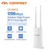 1200Mbps 5.8G AC1200 Outdoor  WLAN Access Point 300Mbit/s 2.4GHz passiv PoE weiß