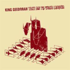 King Geedorah MF DOOM Take Me To Your Leader 2LP RED Vinyl Gatefold BD051X Big D