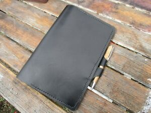 Personalized Leather Journal. Writing Journal Cover Pen Loops, Diary A5 Gift.