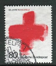 GERMANY 1988 CROCE ROSSA INTL 125th ANN/RED CROSS/ORGANIZATION/AID usata/used