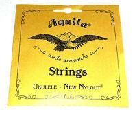 Aquila Ukulele Strings Tenor Regular Nylgut Made in Italy
