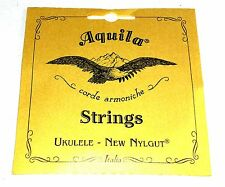 Aquila Ukulele Strings Tenor Regular Nylgut Made in Italy