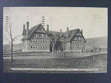 Lewiston Idaho ID Lewis Hall State Normal School Postcard 1909 Antique