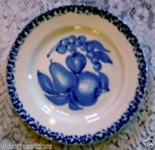 Collectible LA PRIMULA S.R.L.Cobalt Blue & White Fruit Plate - Made in Italy