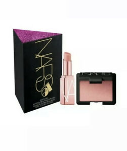 NARS STUDIO 54 Softcore Afterglow Lip Balm+Mini Blush SET Orgasm NIB 100% Auth
