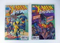 X-MEN LOST TALES #1,2 Marvel Comics Lot Run of 2 NM-NM+ 1997