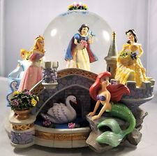 Disney Multi Princess Snowglobe - Snow White, Cinderella, Belle, Little Mermaid