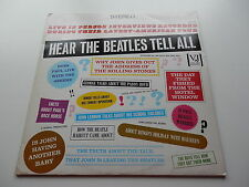 THE BEATLES 1981 UK LP    HEAR THE BEATLES TELL ALL   CHARLY RECORDS