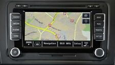 VW SKODA SEAT V14 RNS510/RNS810 2017 Navigation Map West Europe