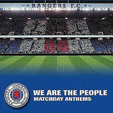 RANGERS  WE  ARE  THE  PEOPLE -*Matchday Anthems* - LOYALIST/ULSTER/RANGERS/ CD*