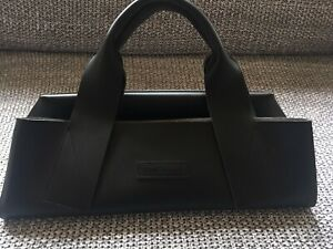 KENNETH COLE New York - Extra Large Black Leather Tote/Shoulder Bag / Handbag