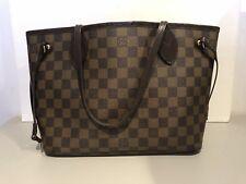 Louis Vuitton Neverfull PM Damier Handbag Bag Purse Beautiful!