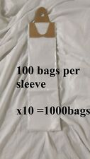 poly newspaper bags, 1000 ct.Clear 5 1/2''x19'' Dog Poop diaper pet waste 5.5x19