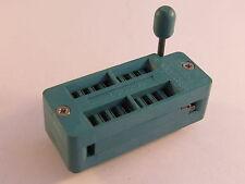 Textool16 - 216-3340 Nullkraftsockel, Testsockel für 16polige ICs - M12/5000
