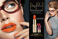 (1) Loreal Colour Riche Lipcolour Lipstick, You Choose