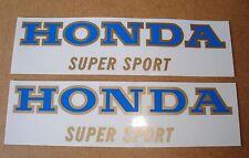 Honda CB 400 Four_Tank - Embleme_blau/gold_Dekor_2 Stueck_Emblem_decor_2pieces