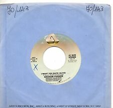 GRAHAM PARKER disco 45 giri  LOCAL GIRLS  made in Usa