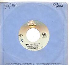 GRAHAM PARKER disco 45 giri  LOCAL GIRLS  made in Usa