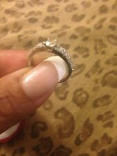 Round 0.8ct Diamond 14K Gold Solitaire Engangment Ring Size*7-7.5
