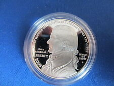2005 Chief Justice John Marshall Silver Dollar Deep Cameo Mirror Proof
