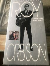 THE LEGENDARY ROY ORBISON/4 CD BOX SET/36 PAGE BOOKLET