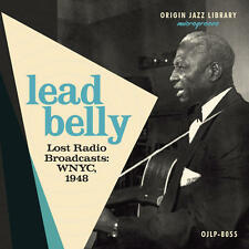 "Lead Belly - Lost Radio Broadcasts: WNYC, 1948 BLUE 10"" VINYL LP NEW LMTD ED"