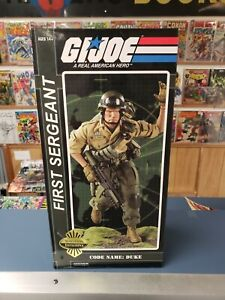 Sideshow Exclusive Gi Joe First Sergeant Code Name Duke. Mint
