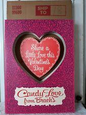 Vintage Brach's Valentine's Day Candy Retail Store Display Comes in Original Box