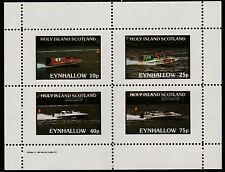 GB Locals - Eynhallow (1526) - 1982 SPEED BOATS perf sheetlet u/m