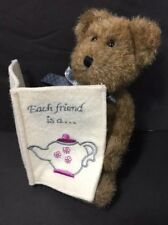 The Boyds Collection Verna Each Friend Is A Custom Blend Greeting Card Bear