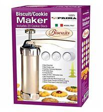 BISCOTTI per biscotti macchina include 20 Dischi di biscotti con 4 ugelli glassa