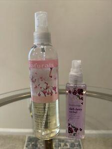 Bodycology Dark Cherry Orchid 2oz & Avon Naturals Body Cherry Blossom 8.4oz 90%