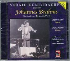 Sergiu CELIBIDACHE BRAHMS German Ein deutsches Requiem Agnes GIEBEL Hans HOTTER
