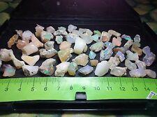 Opal Rough Ethiopian Welo A Lot Flash Fire Multicolors - 251 cts - 65 pieces