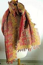 Vintage Damenschal Wollschal Schal Tuch Stola Seidenschal neu Lager  - Muster