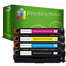 4 Toner Cartridge For HP Colour LaserJet CP2025 CP2025dn CP2025n CM2320nf CM2320