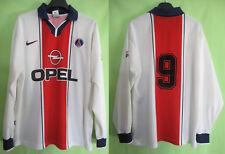 Maillot PSG OPEL Paris Saint Germain Porté #9 reserve OPEL Vintage - XL